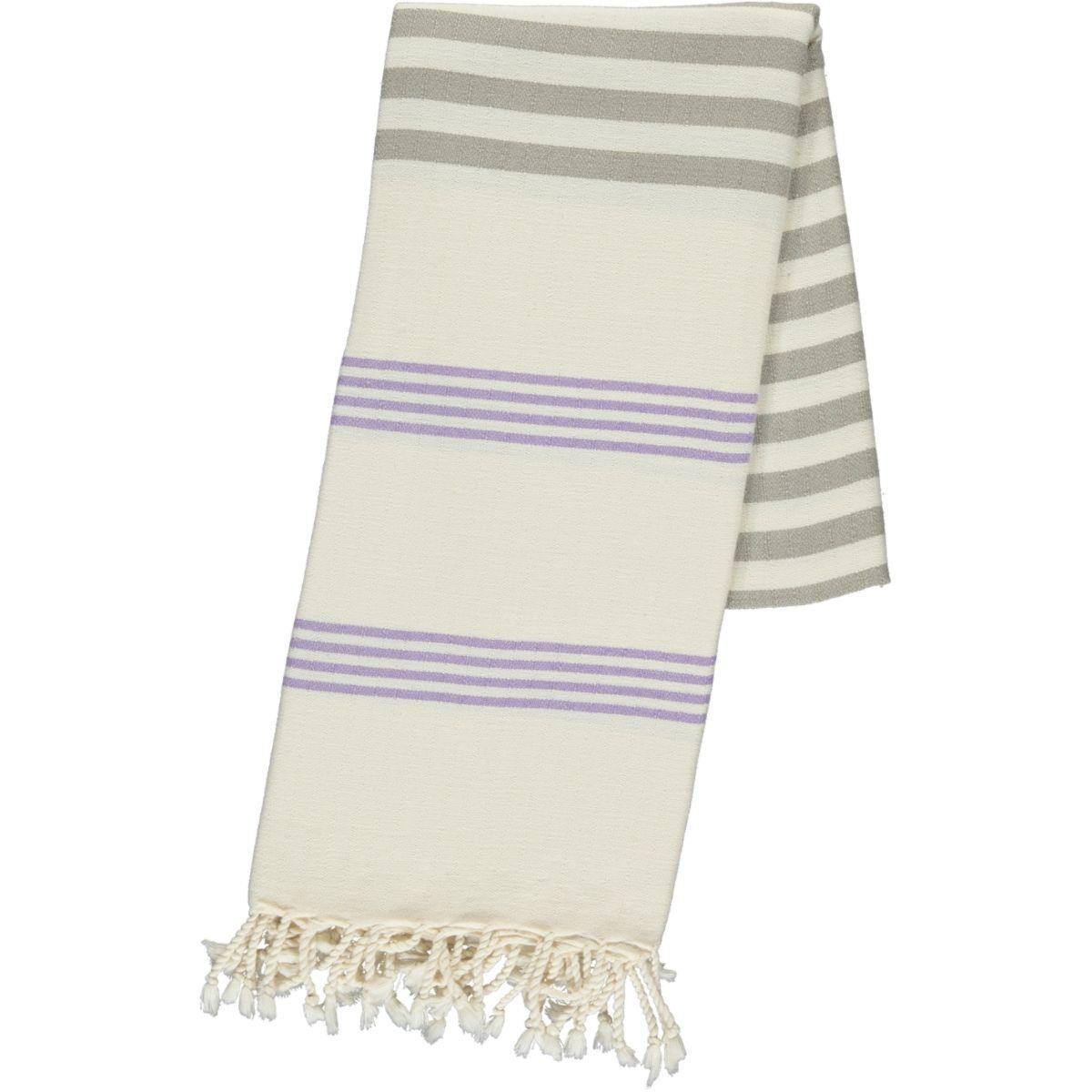 Peshtemal / Towel - Sultan FUN - Lilac / Taupe