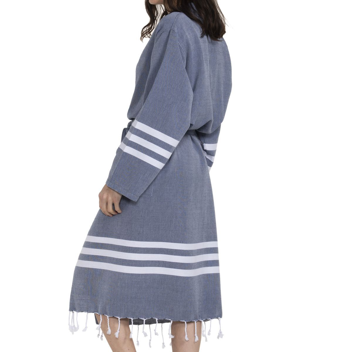 Bathrobe Bala Sultan kimono - Navy