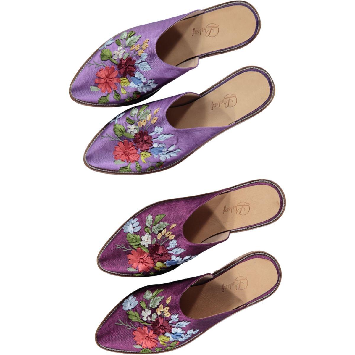 Slipper / Farah / Closed - Lilac