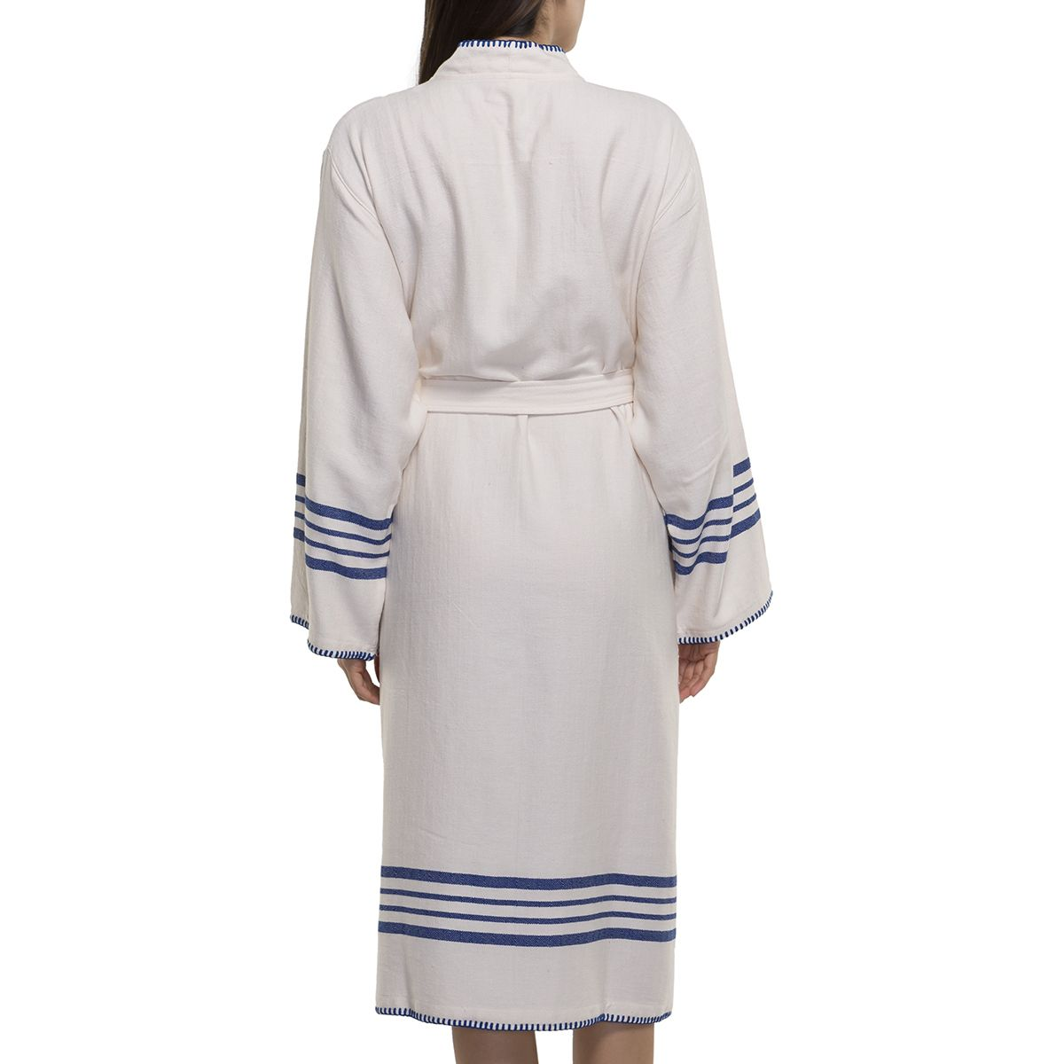 Bathrobe Coban Sultan / Royal Blue Stripes