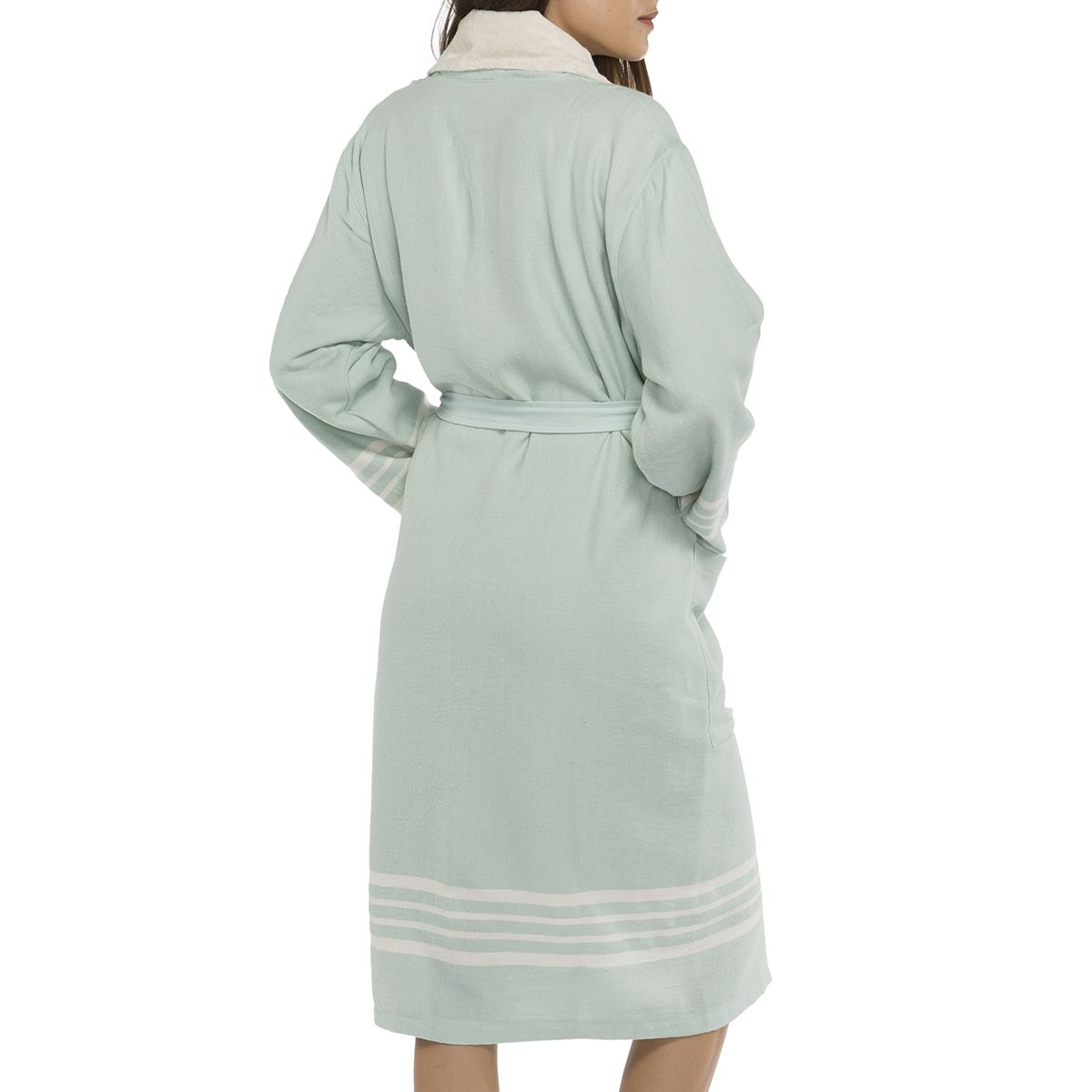 Bathrobe Sultan with towel - Mint