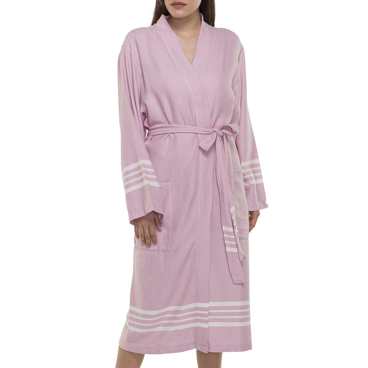 Bathrobe Sultan Kimono - Rose Pink