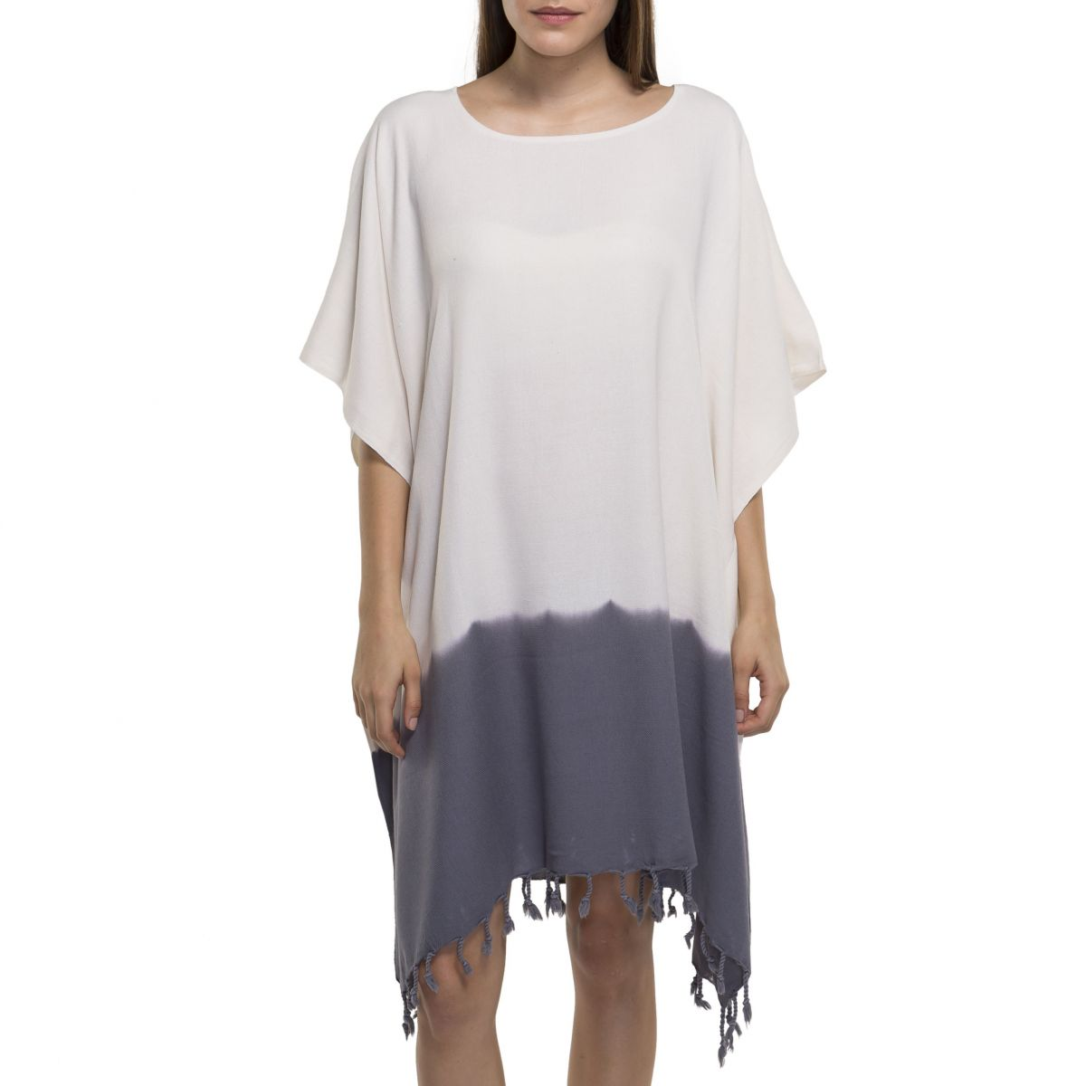 Tunic Minzi / Tie Dye - Bottom Dark Grey