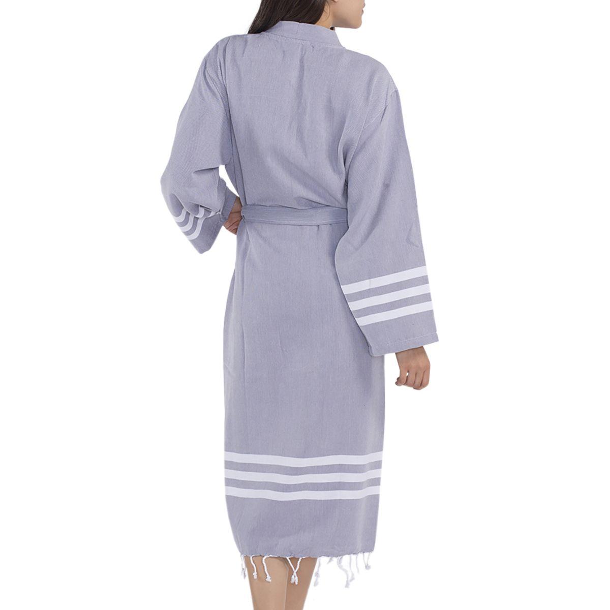 Bathrobe Bala Sultan kimono - Dark Grey