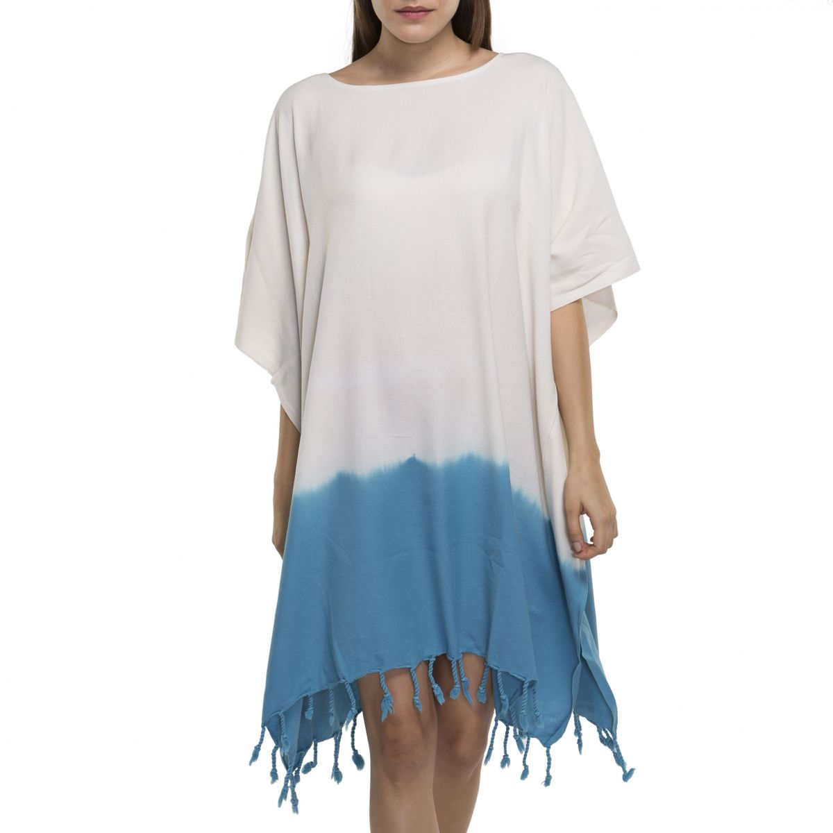 Tunic Minzi / Tie Dye - Bottom Turquoise