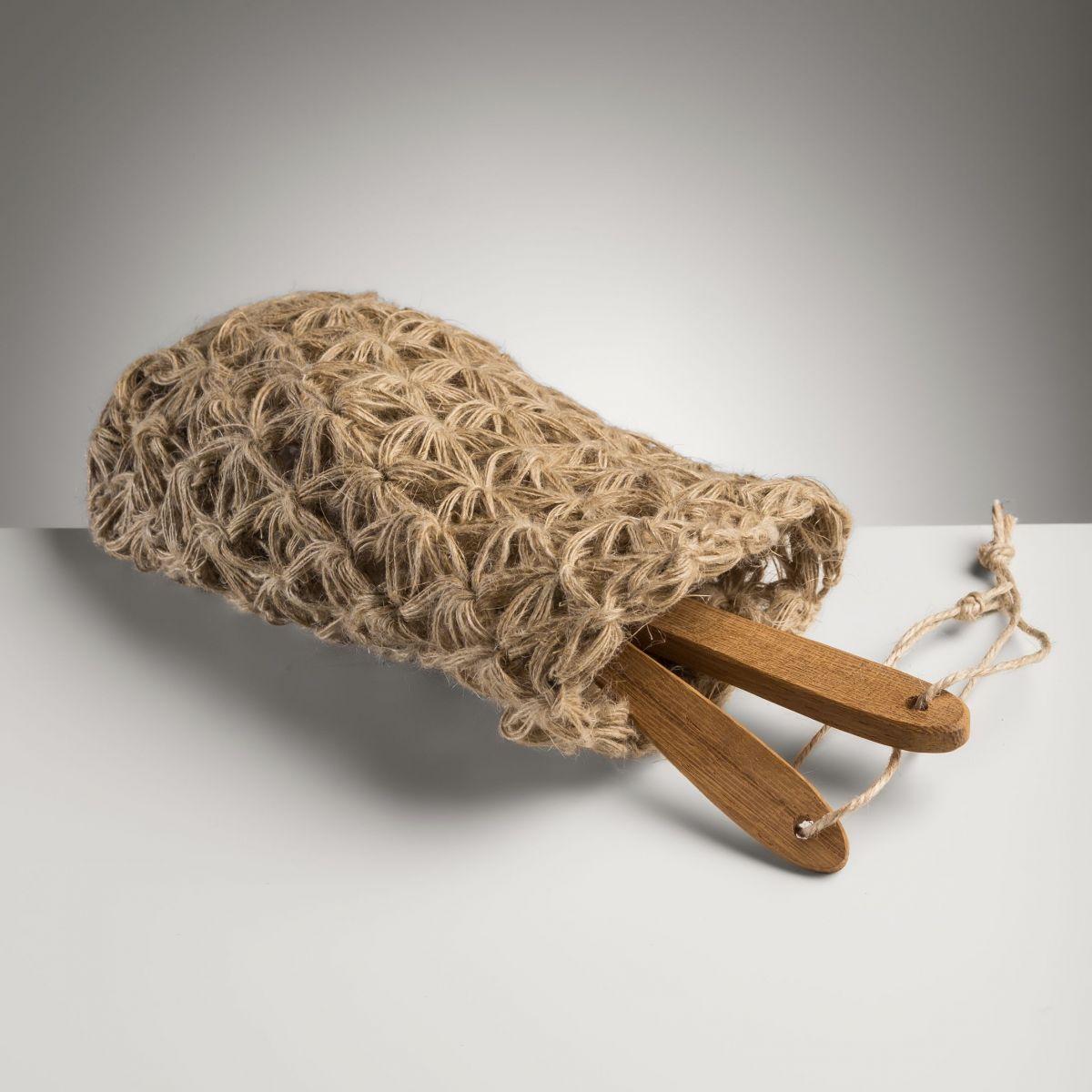 Pumice Stone Set in Linen Loofah