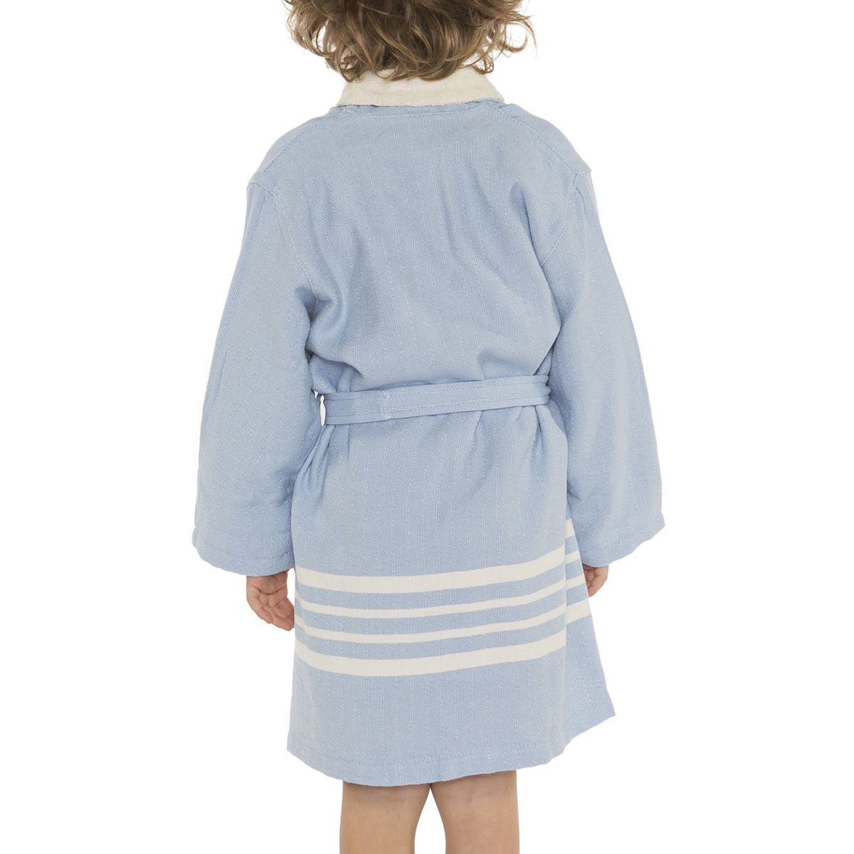 Bathrobe Kiddo Terry - Blue