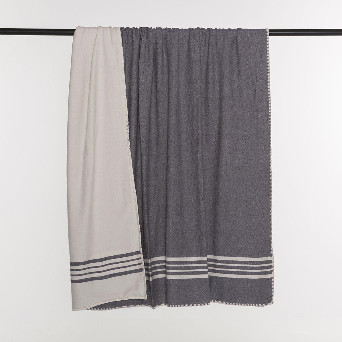 Throw Sultan / Double Side - Dark Grey