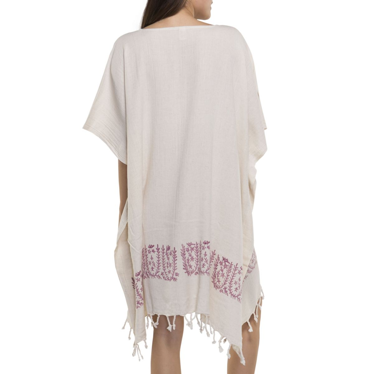 Tunic - Hand Printed 01 / Dusty Rose