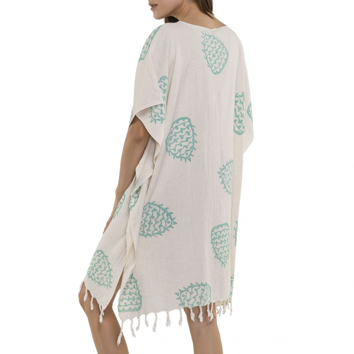 Tunic - Hand Printed 05 / Mint