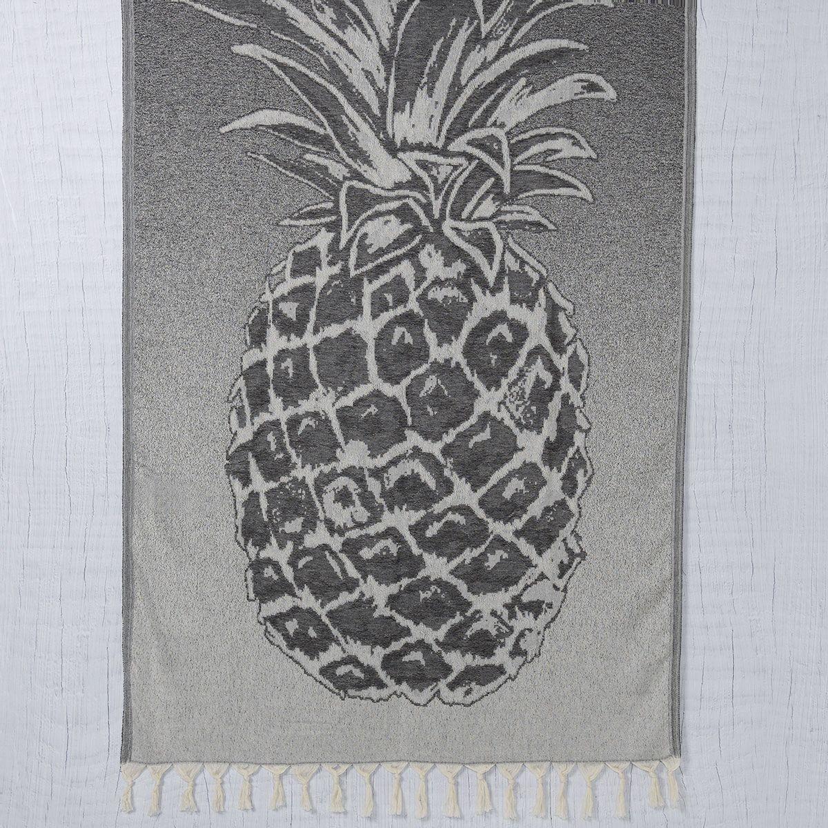 Peştemal Ananas - Siyah