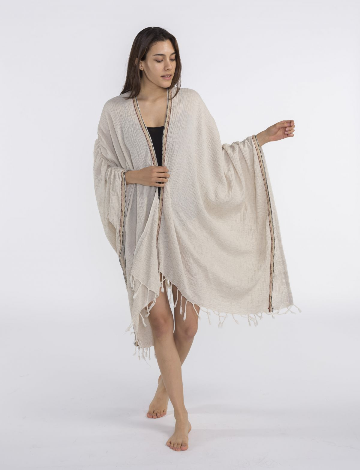 Tunic - Diva / Natural with colored pippings