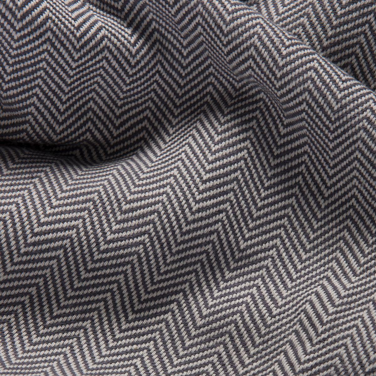 Throw Zigzag - Dark Grey