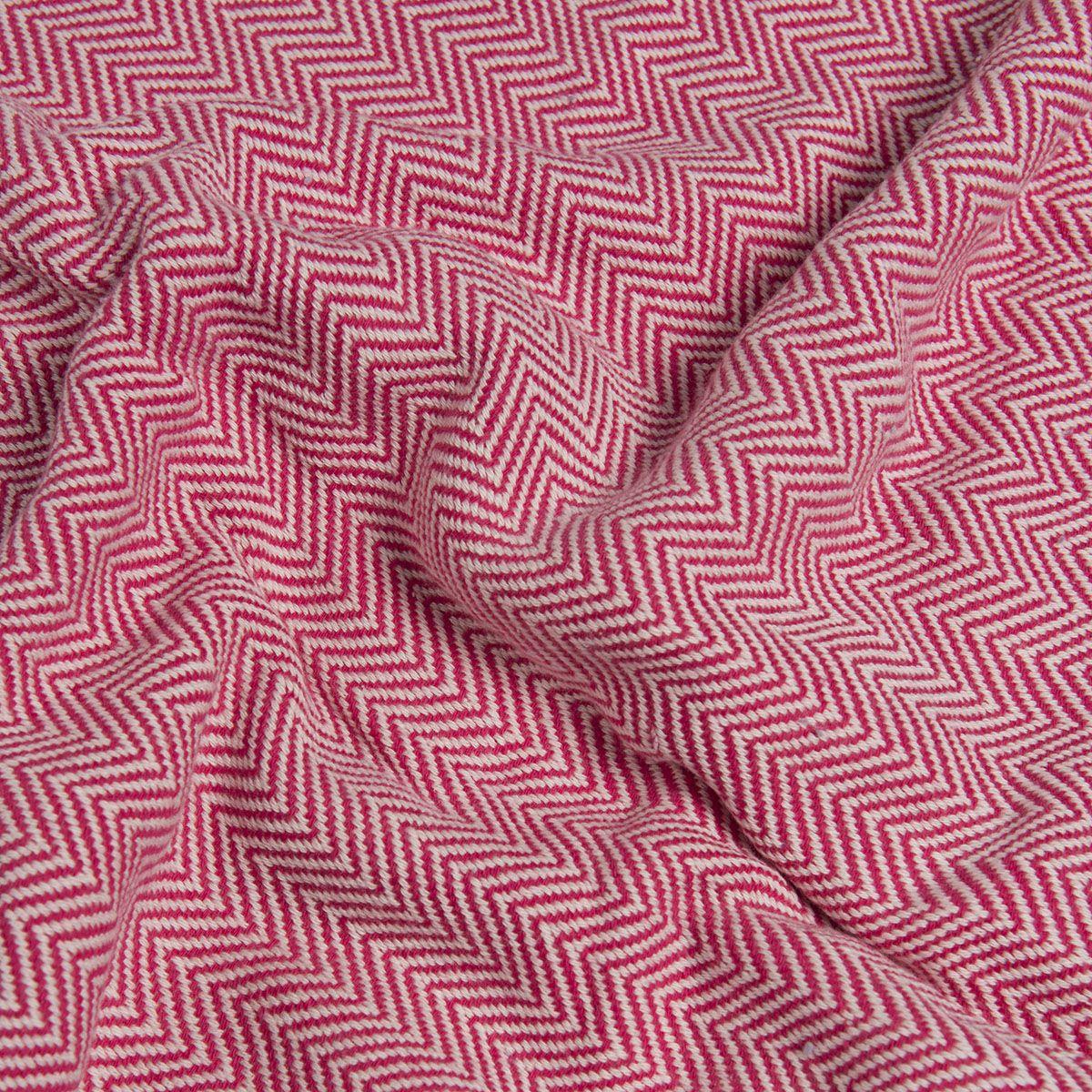 Peshtemal Zigzag - Fuchsia