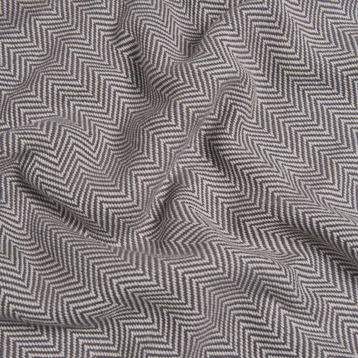 Peshtemal Zigzag - Dark Grey