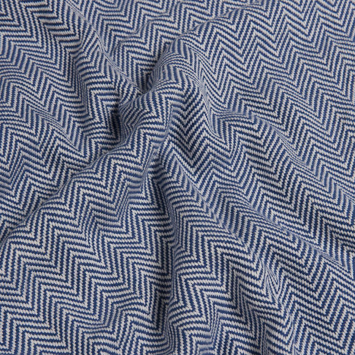 Peshtemal Zigzag - Royal Blue