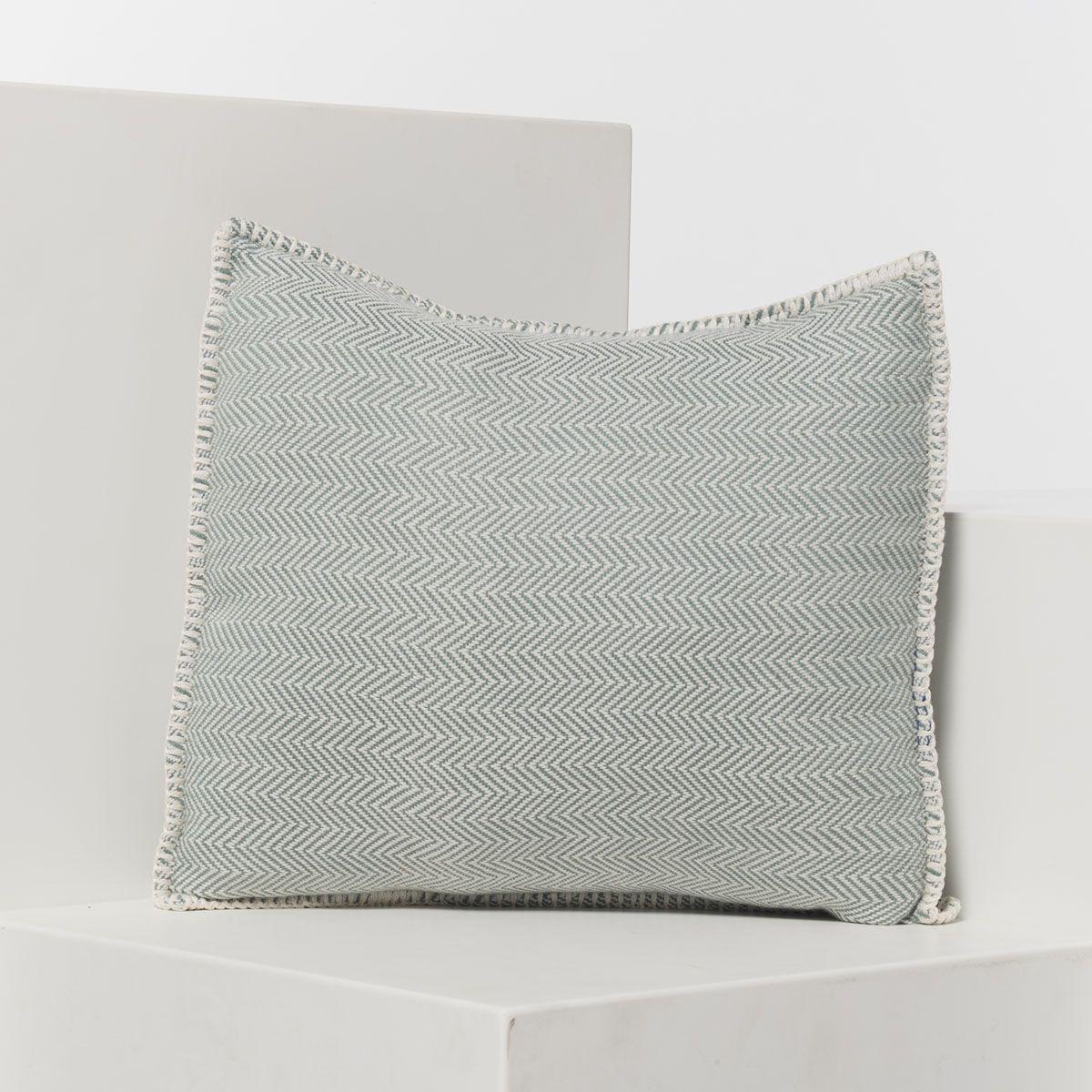 Yastık Kılıfı Zigzag - Çağla Yeşil / 40x40