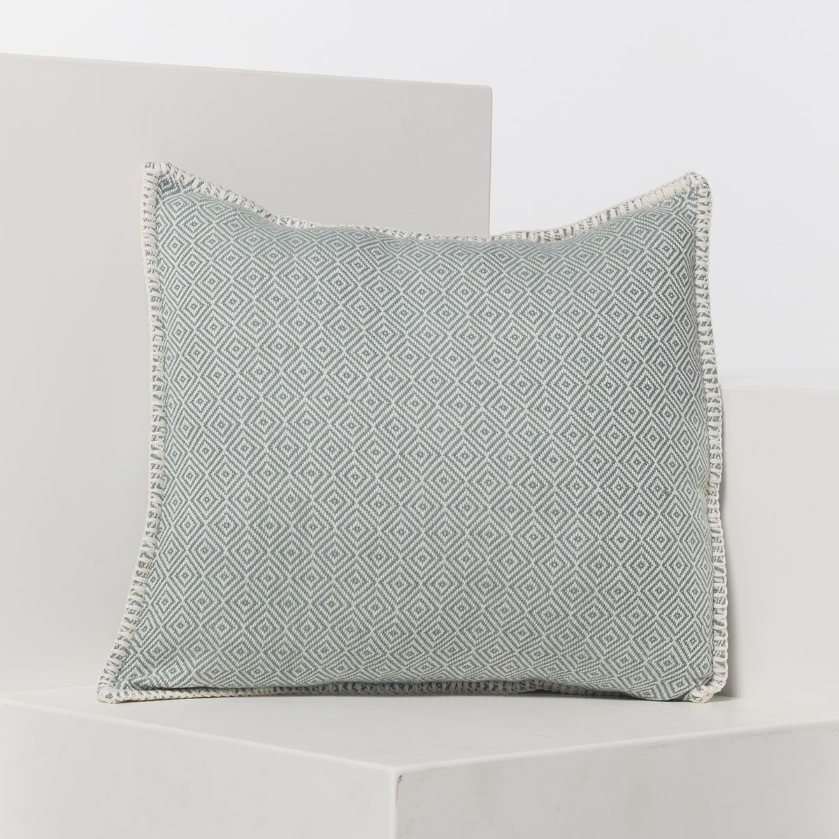 Cushion cover / Diamond - Almond Green / 40x40