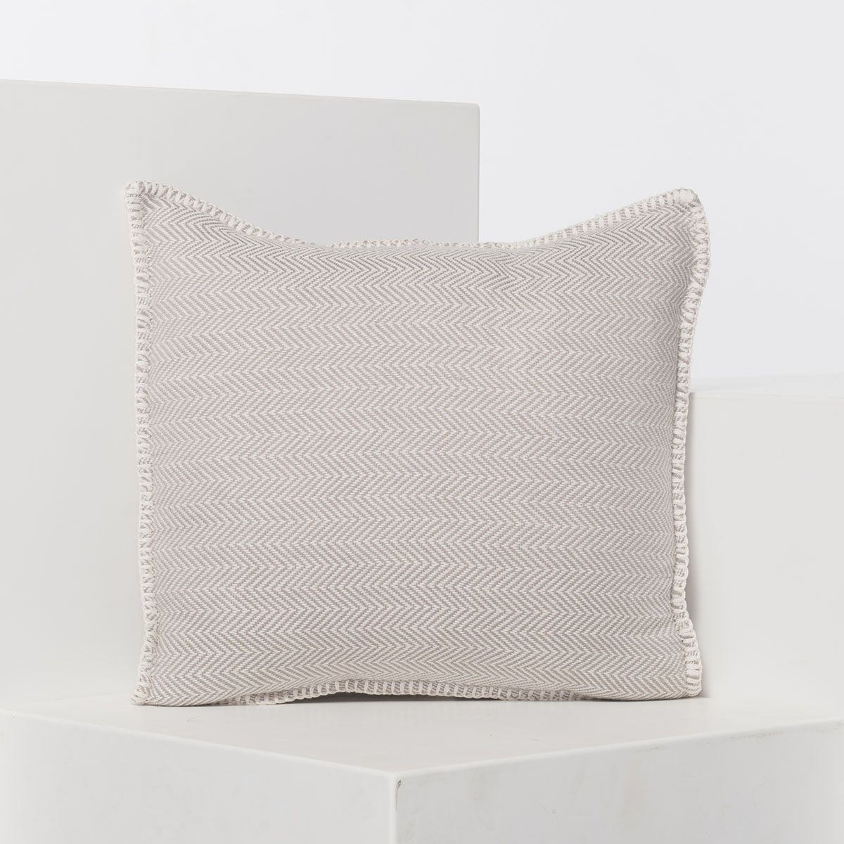 Cushion cover / ZigZag- Taupe / 40x40