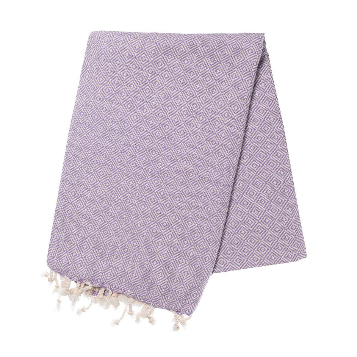 Peshtemal Diamond - Lilac