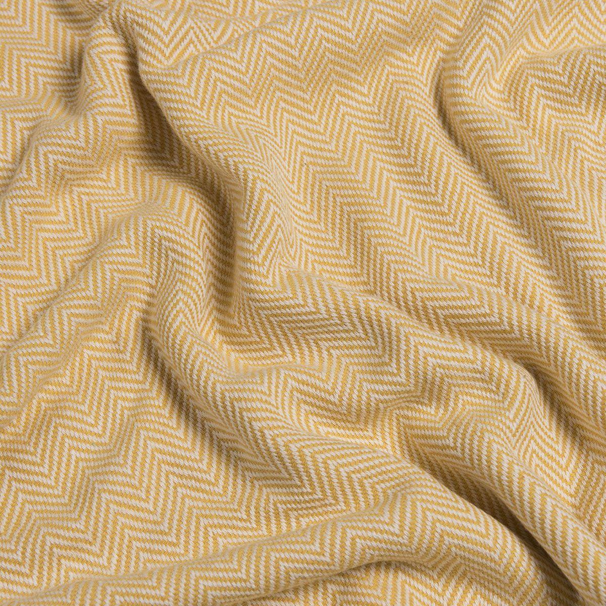 Throw Zigzag - Yellow