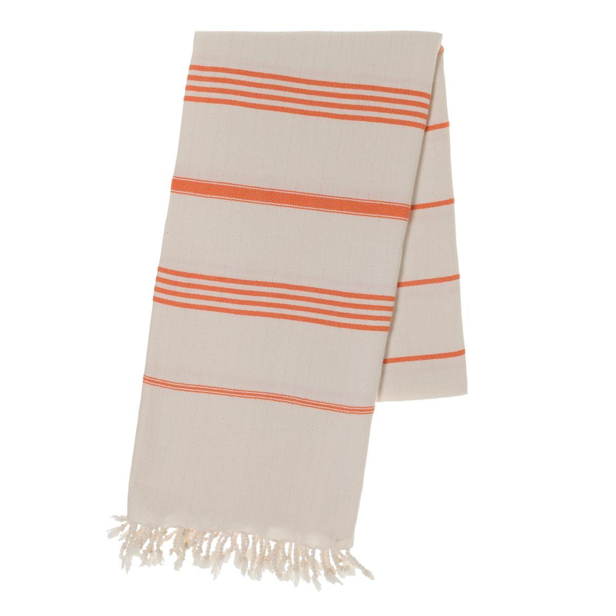 Peshtemal SultanCP - Orange Stripes