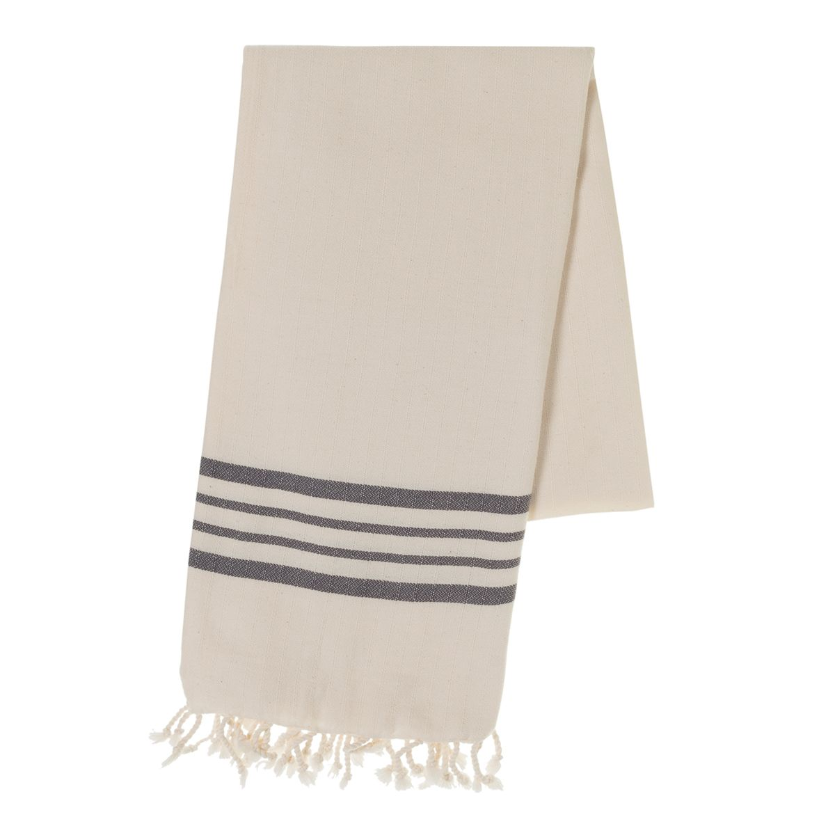 Peshtemal Sultan - Dark Grey Stripes