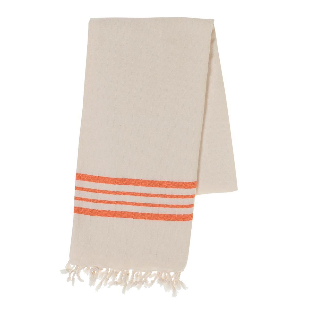 Peshtemal Sultan - Orange Stripes
