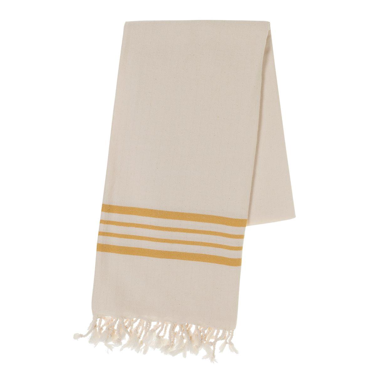 Peshtemal Sultan - Yellow  Stripes