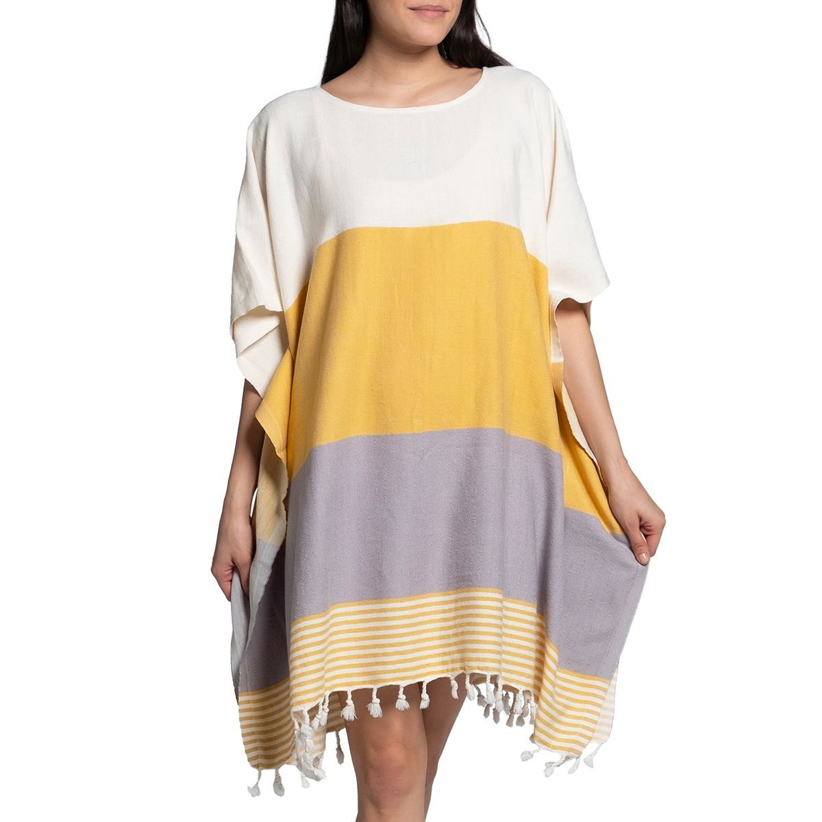 Tunic Twin Sultan - Yellow / Light Grey