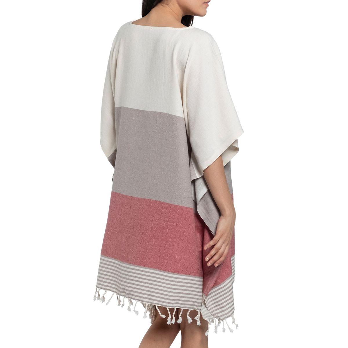 Elbise İkiz Sultan / Kum Bej - Gül Kurusu