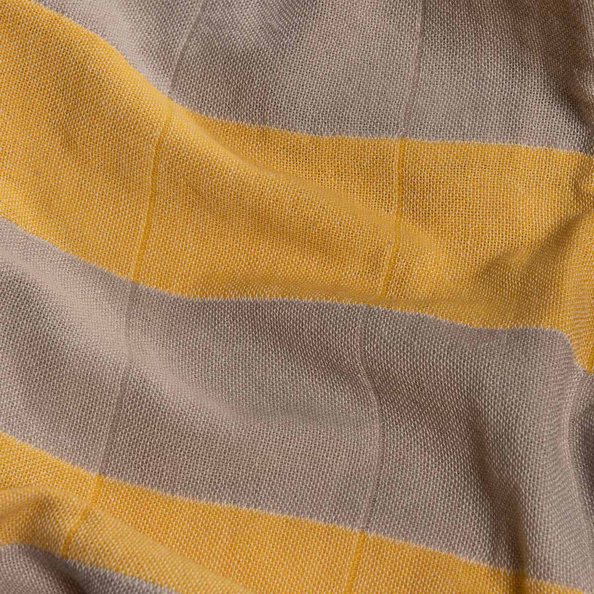 Peştemal Duble - Kum Bej / Sarı