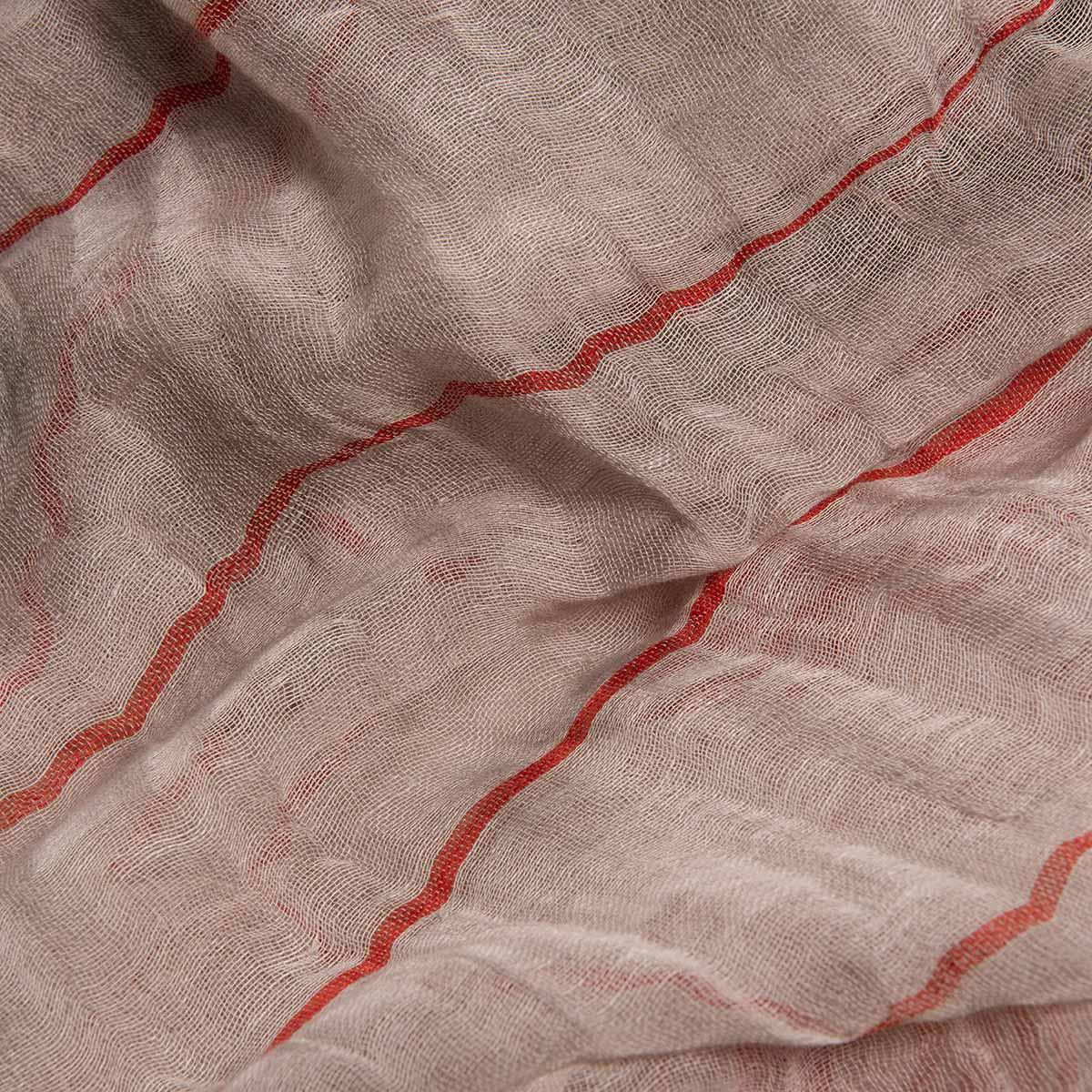 Peshtemal / Pareo Toprak - Red Stripes