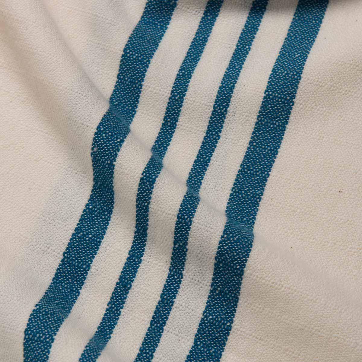 Peshtemal Sultan - Petrol Blue Stripes