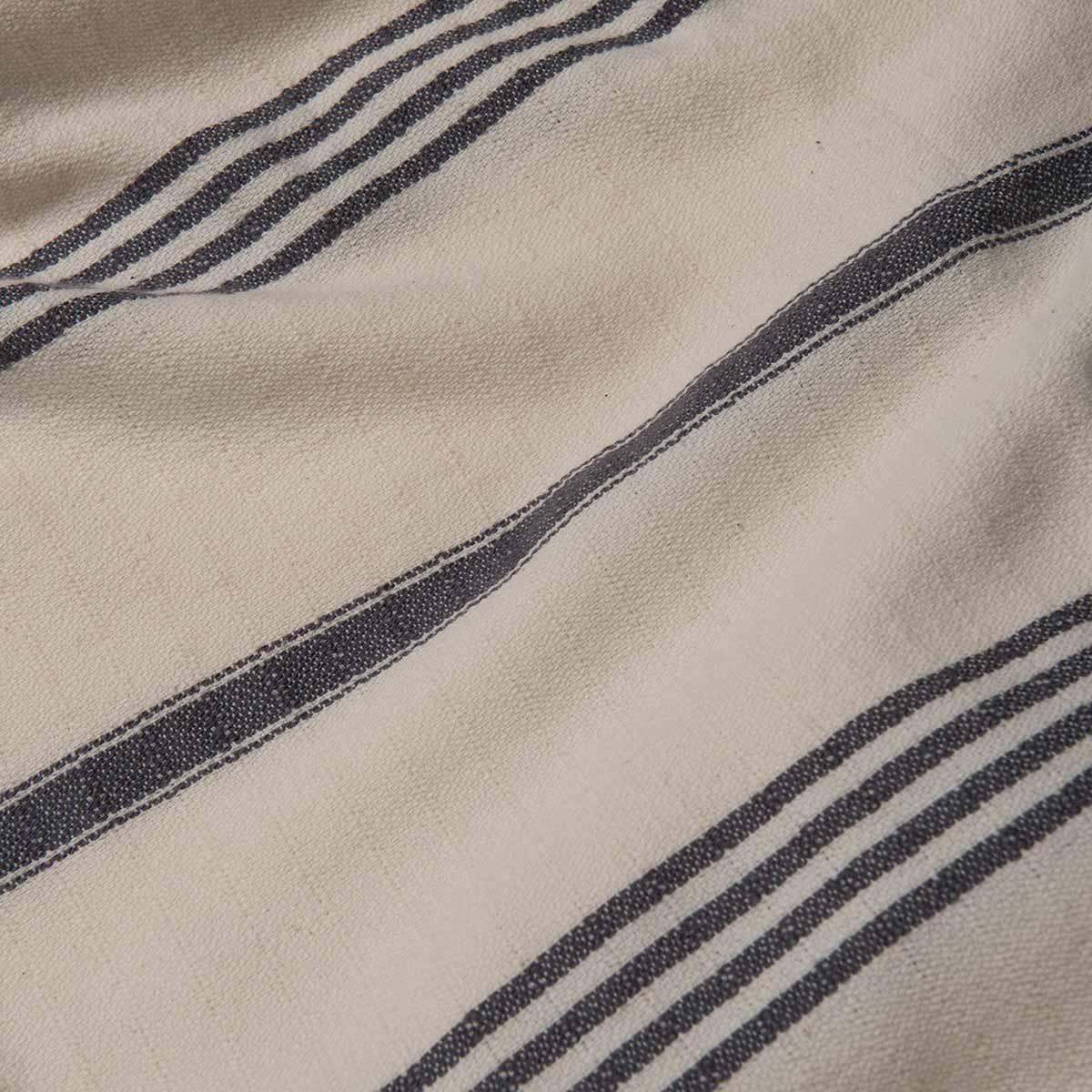 Peshtemal SultanCP - Dark Grey Stripes