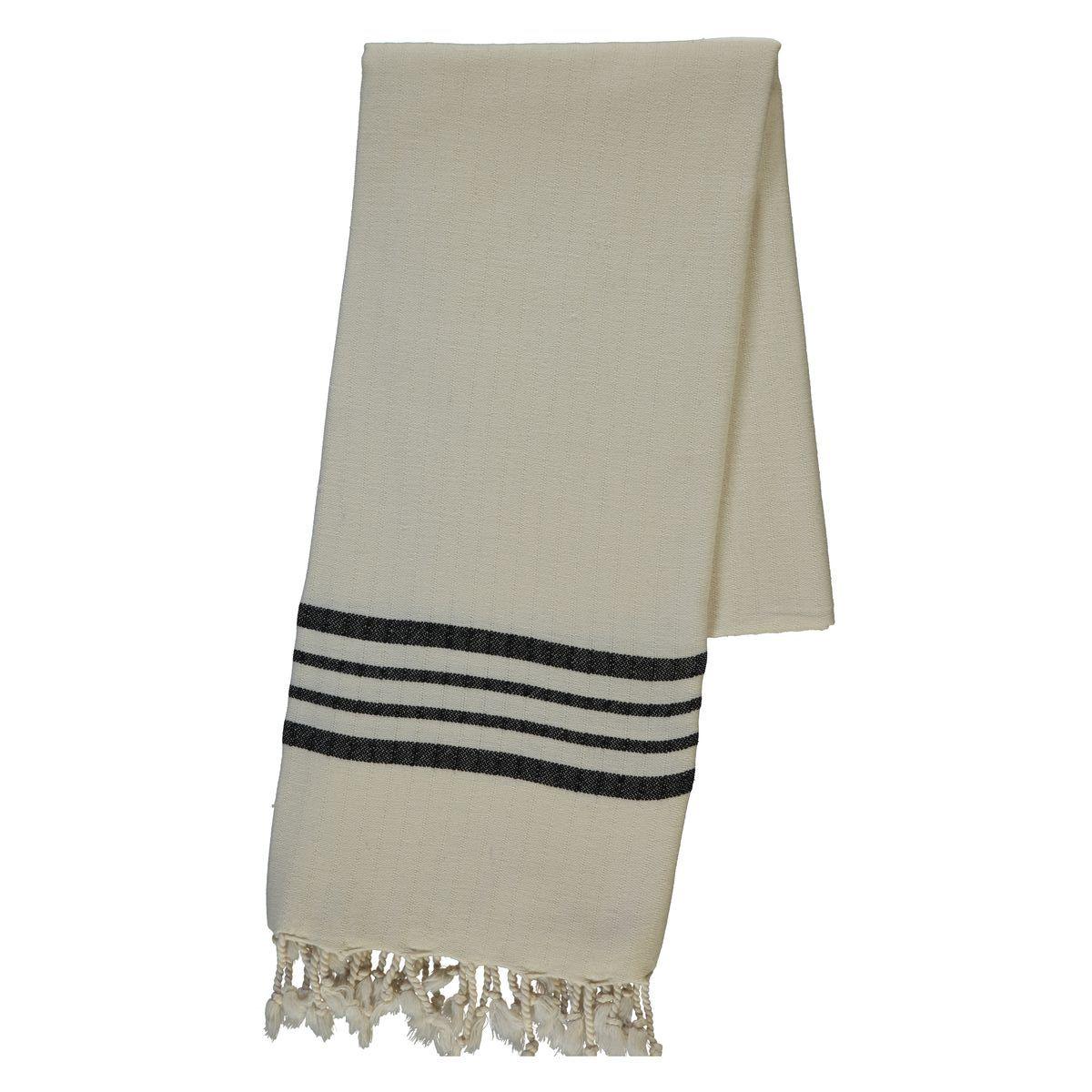 Peshtemal Sultan - Black Stripes