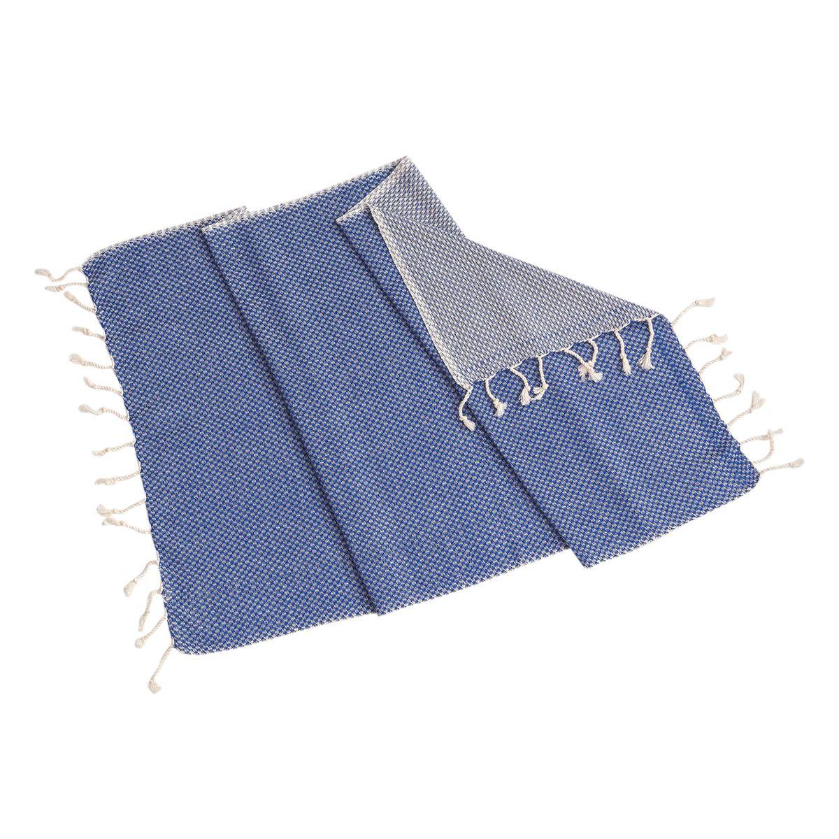 Peşkir Dama - Royal Mavi