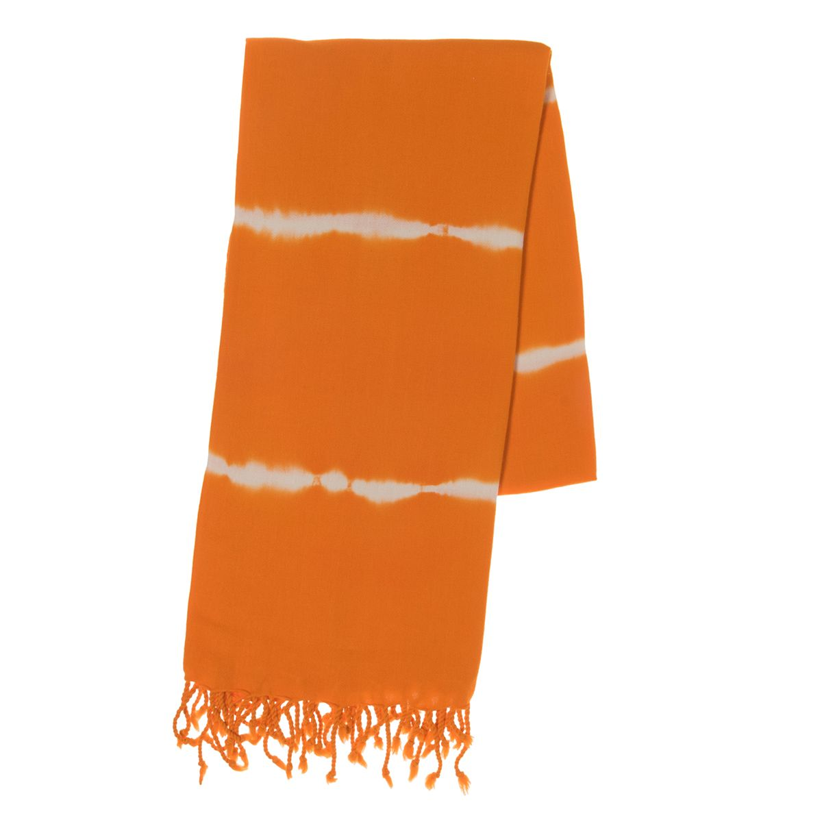 Peshtemal - Tie-Dye / Base Orange