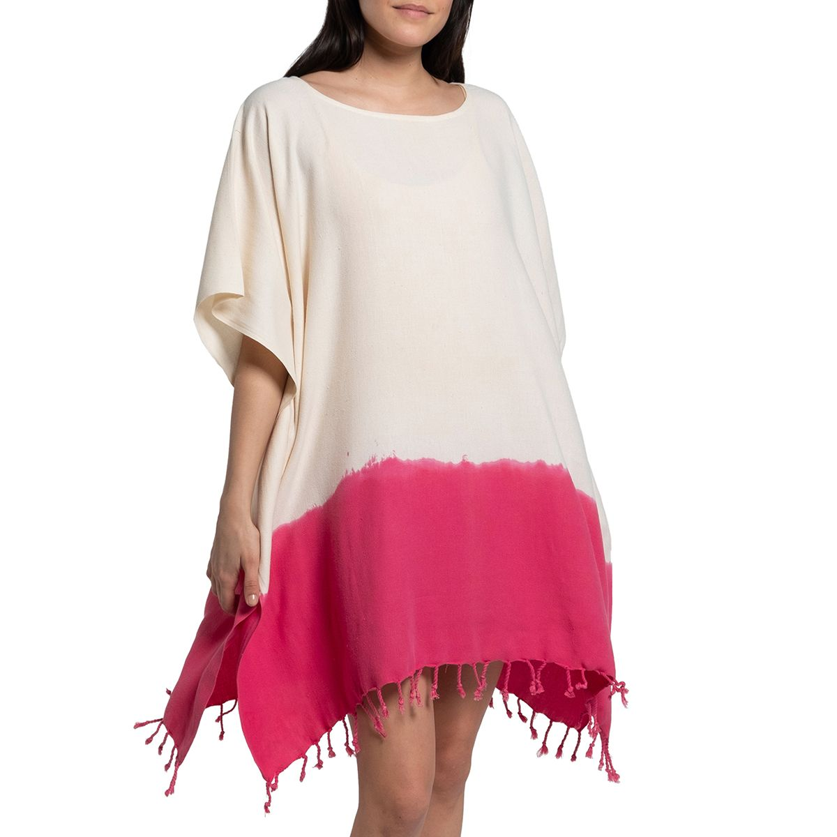 Tunic Minzi / Tie Dye - Bottom Fucshia