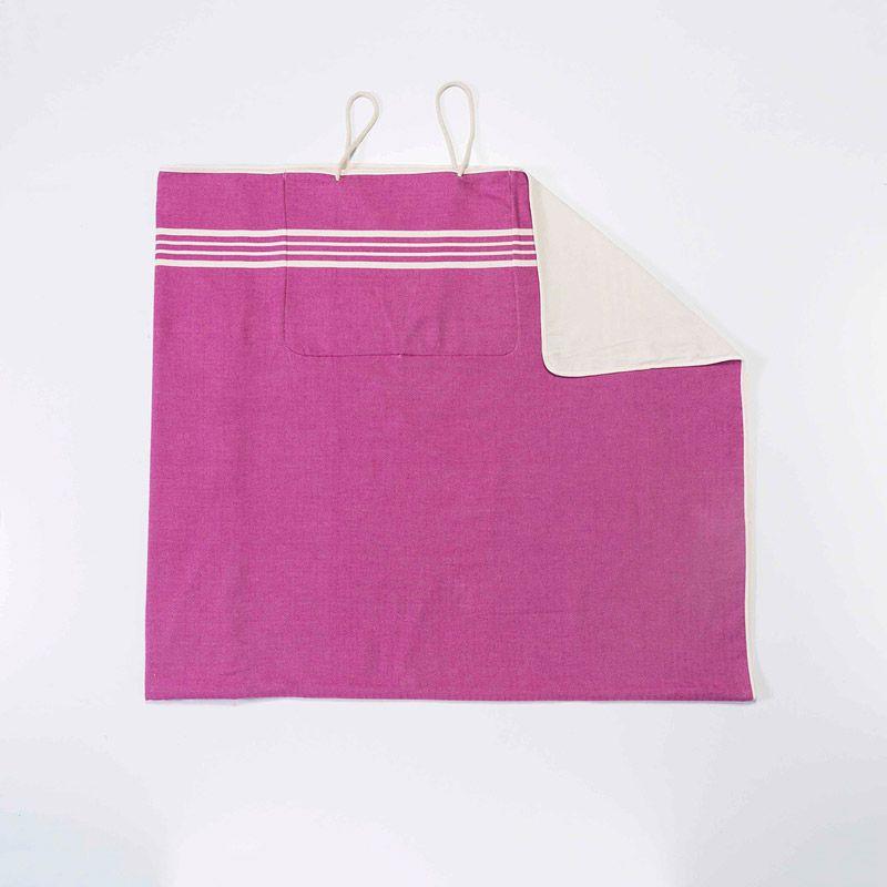 Çanta Havlu Krem Sultan - Açık Mor
