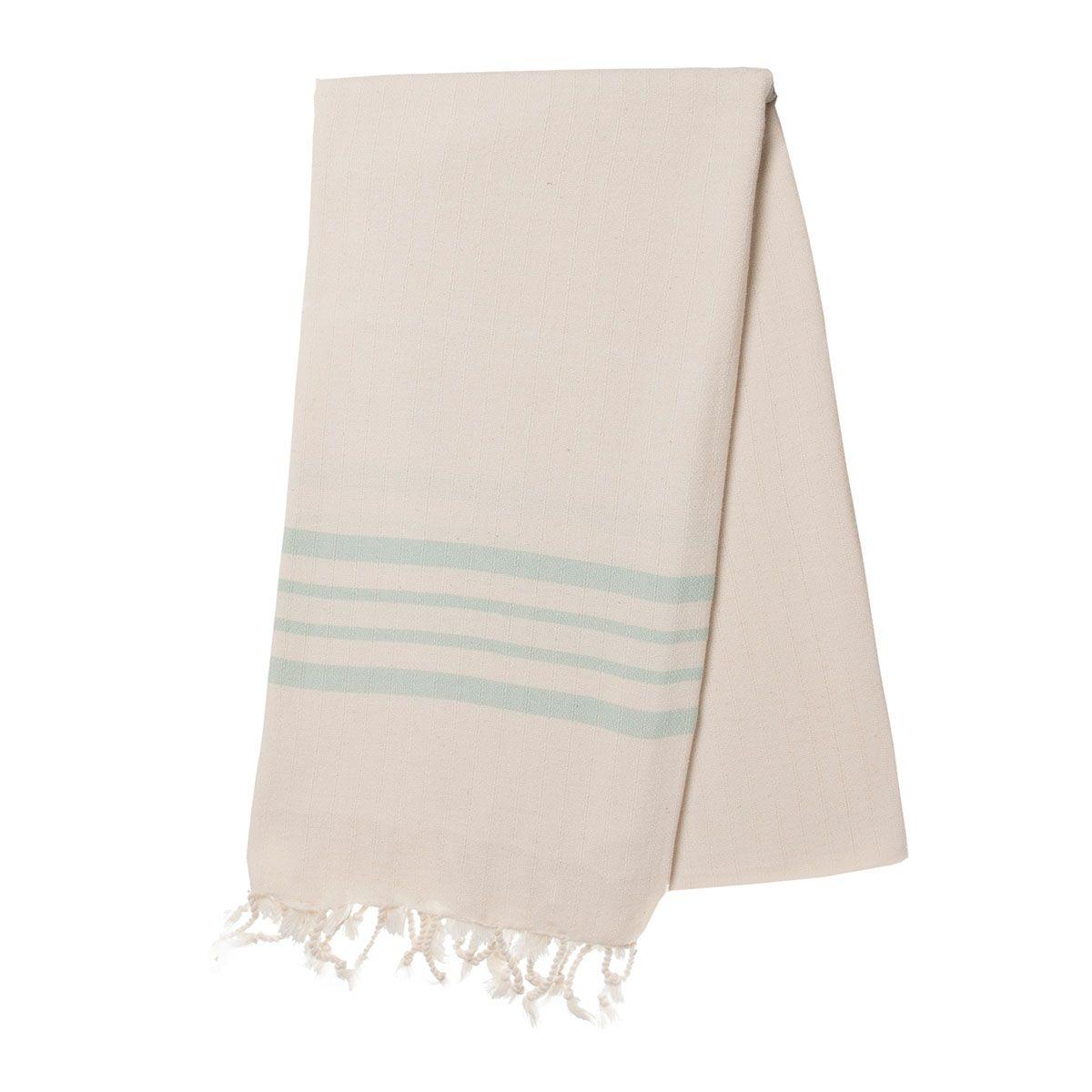Peshtemal Sultan - Mint Stripes