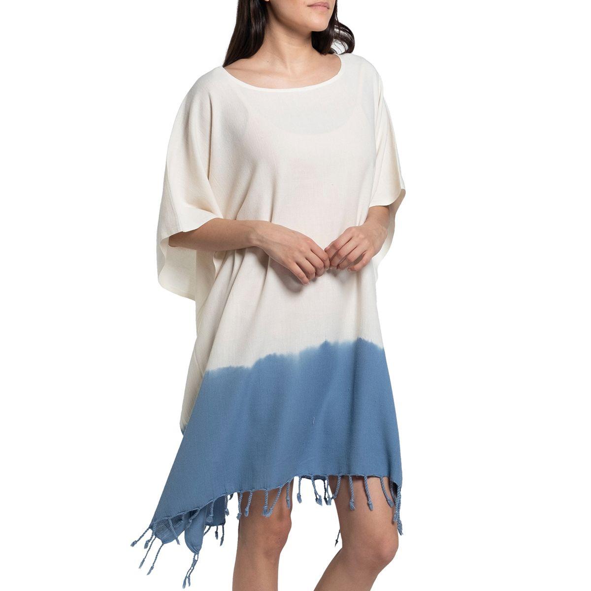 Tunik Minzi / Batik - Uçlar Havacı Mavi