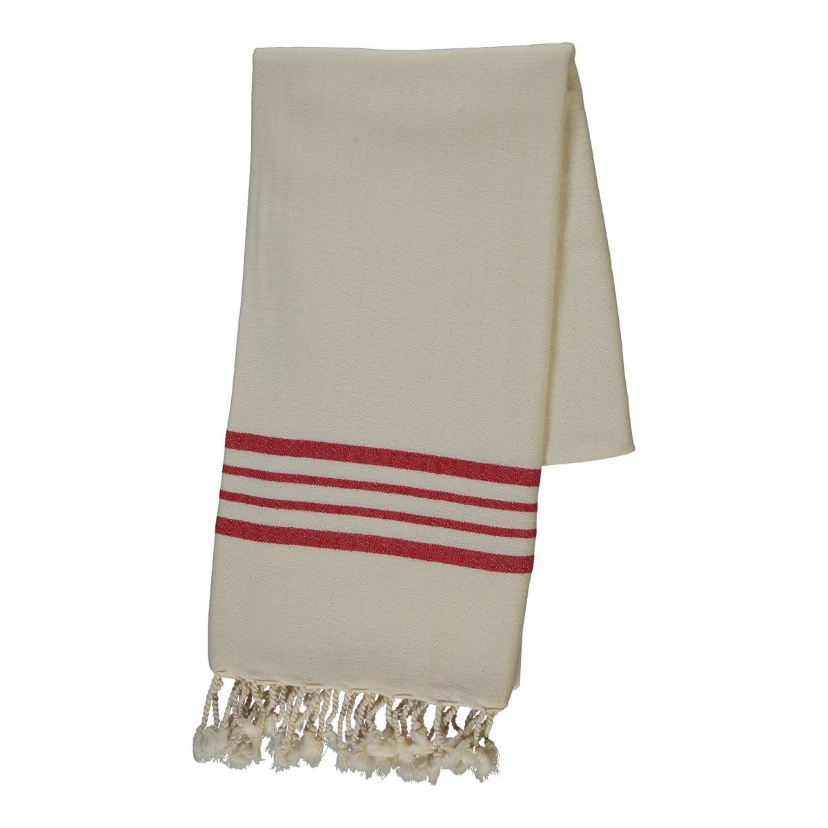 Peshtemal Sultan - Red Stripes