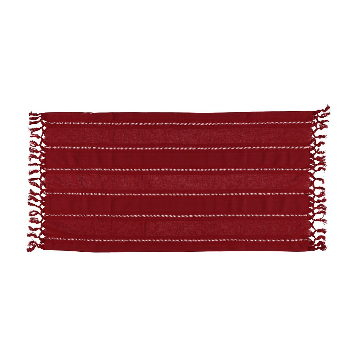 Mini Towel Hemstitched - Red
