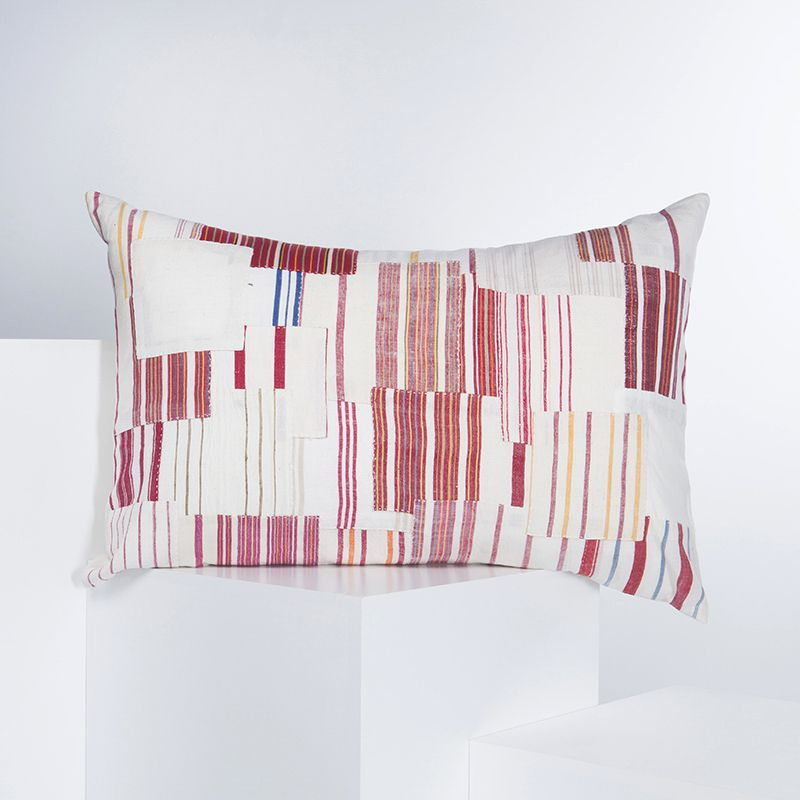 Cushion Cover - Patchwork BR - White