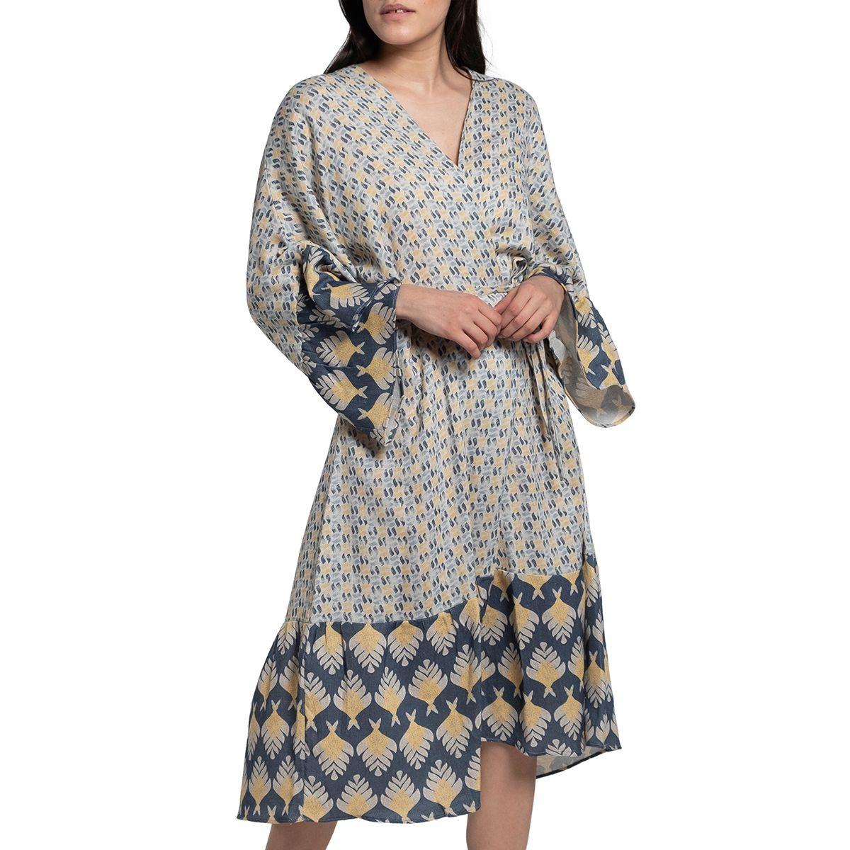 Dressing Gown / Home Wear - Santorini