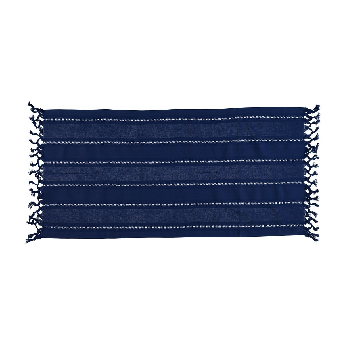 Mini Towel Hemstitched - Dark Blue