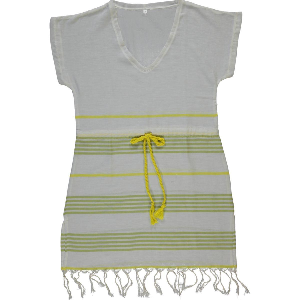 Elbise 04 / Sarı - Yeşil