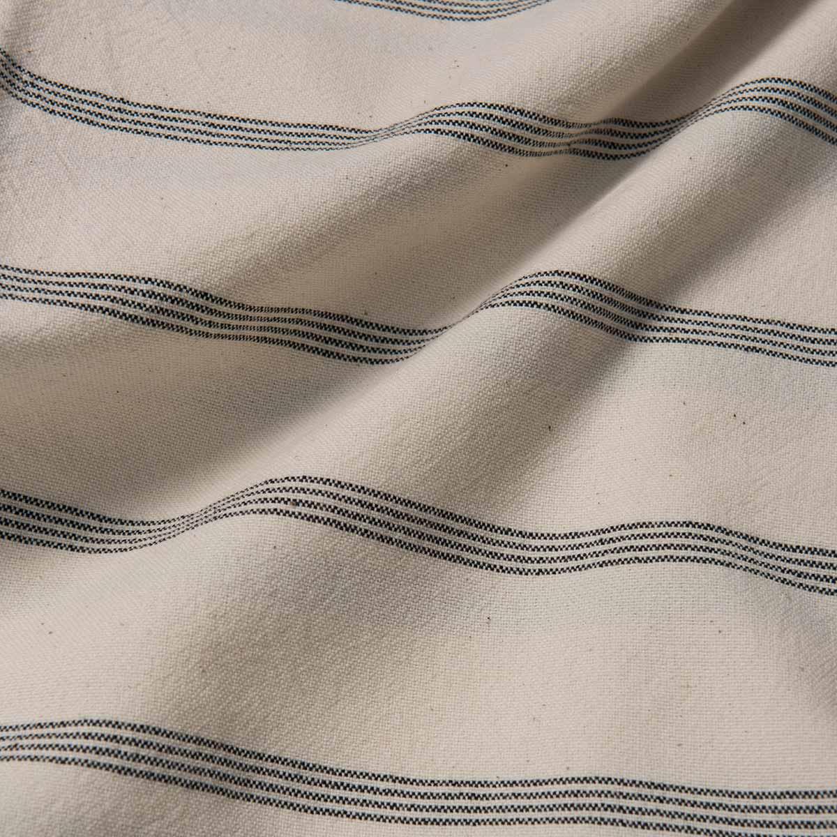 Peshtemal Carcar - Dark Grey Stripes