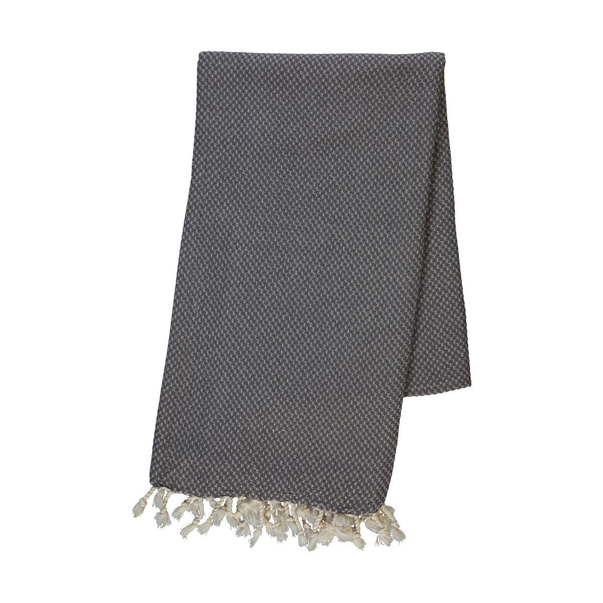 Peshtemal Dama - Dark Grey